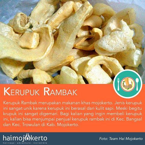 Hai Mojokerto Haimojokerto Instagram Photos Videos Kerupuk Rambak Makanan Khas