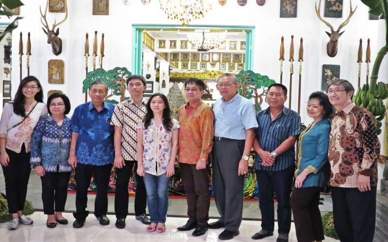 Museum Gubug Wayang Kunjungan Kerjasama Ubaya Mojokerto Sanggar Kab