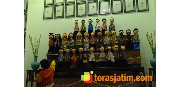 Omah Wayang Mojokerto Teras Jatim Museum Sanggar Gubug Kab