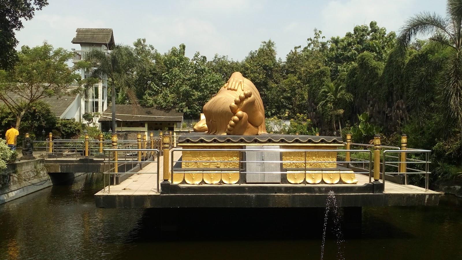 Buddha Tidur Mojokerto Pojok Rider Patung Budha Kab