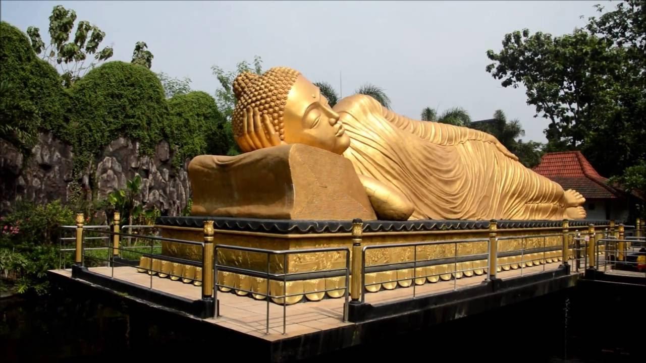Budha Tidur Mojokerto Youtube Patung Kab