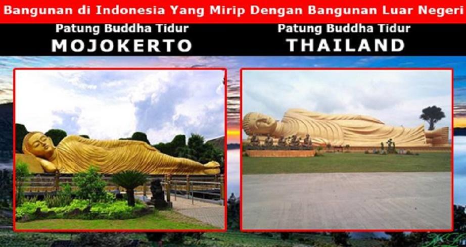 Kebetulan Tidak 7 Tempat Wisata Indonesia Mirip Patung Budha Tidur