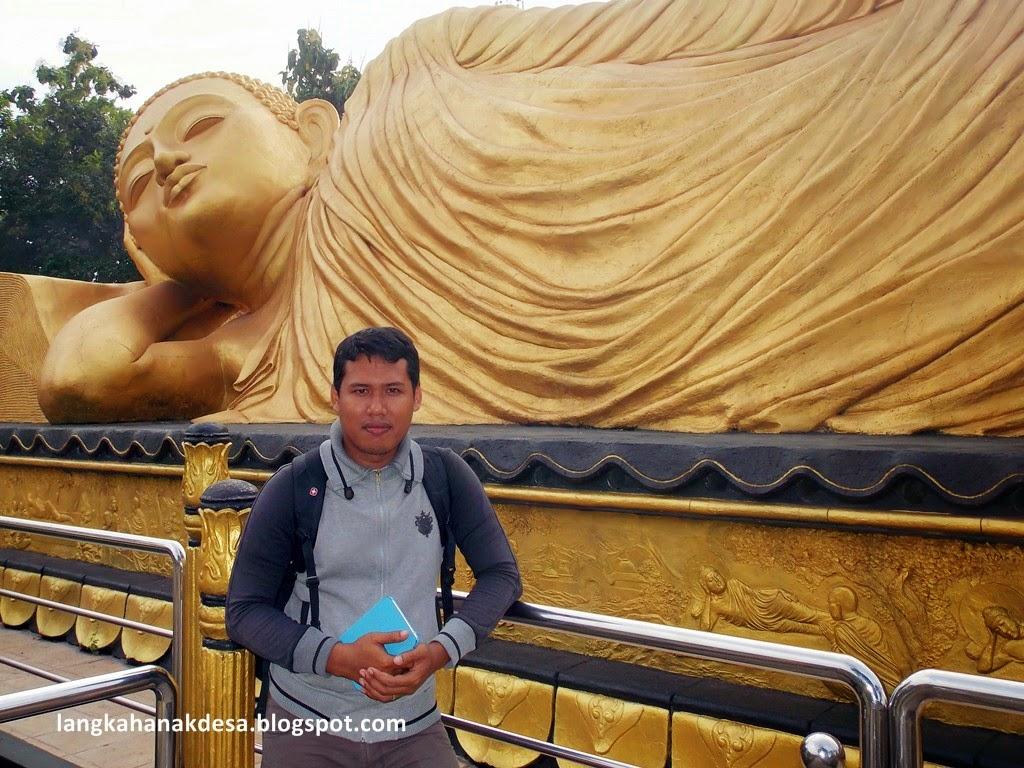 Langkah Anak Desa Patung Budha Tidur Mojokerto Melihat Lebih Dekat