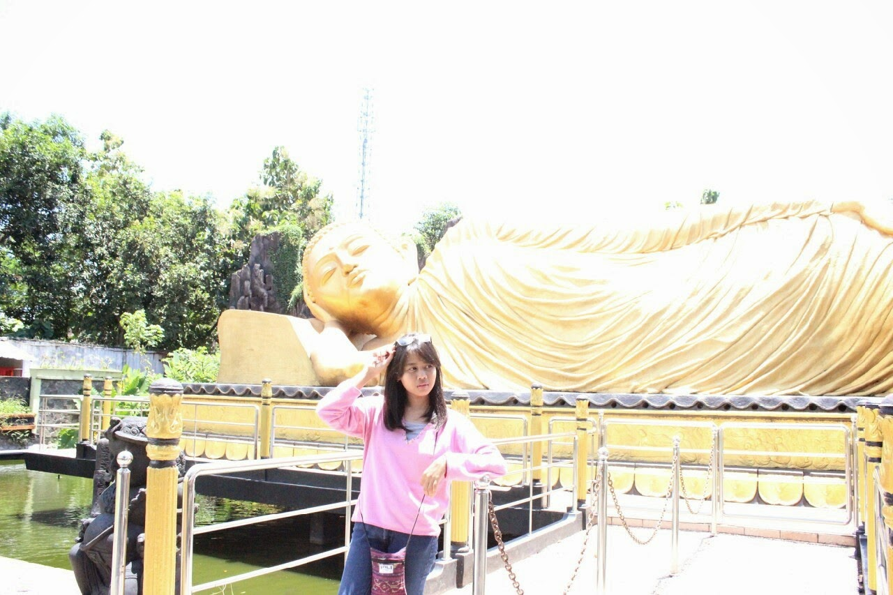 Meilindadr Home Girls Day Bolang Sehari Patung Buddha Tidur Lebih