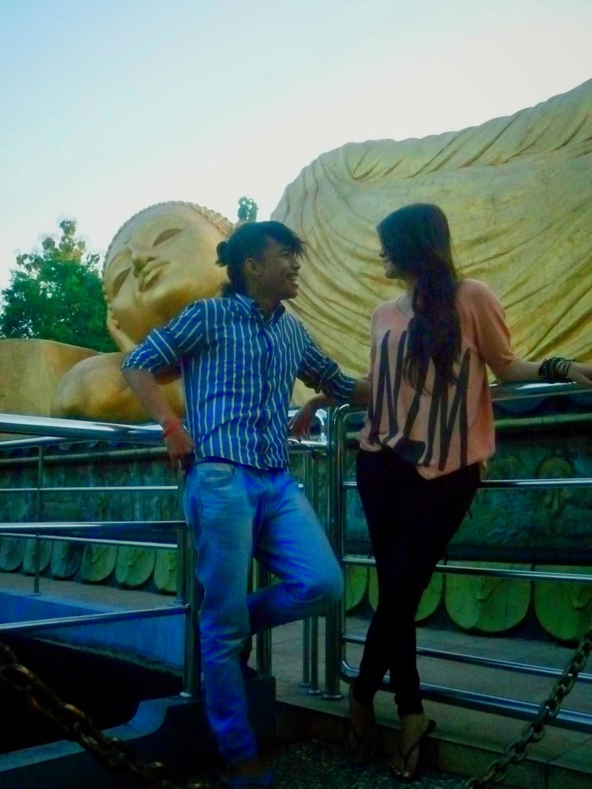 Patung Budha Tidur Trowulan Mojokerto Jawa Timur Cimara Adventure Gak