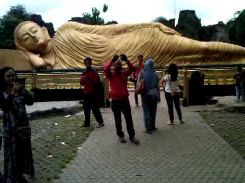 Patung Budha Tidur Trowulan Mojokerto Youtube Kab