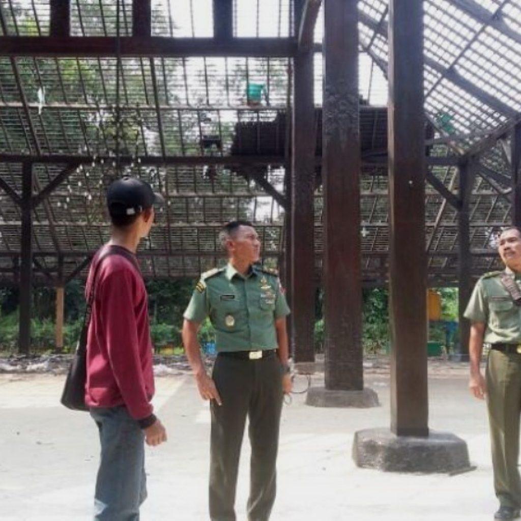 Dandim 0815 Cek Renovasi Pendopo Agung Trowulan Inilahmojokerto Mojokerto Kab
