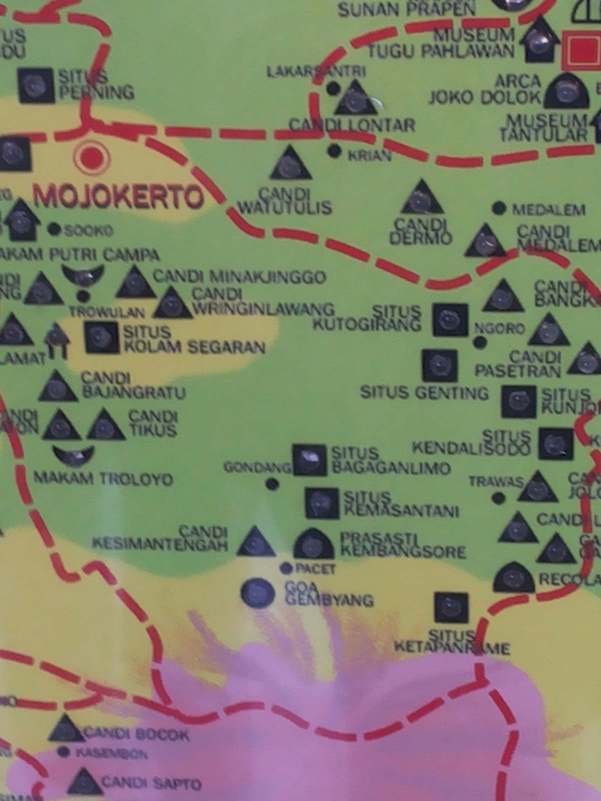 Homeland Tempat Wisata Kotaku Mojokerto Berbagai Situs Candi Peninggalan Purbakala