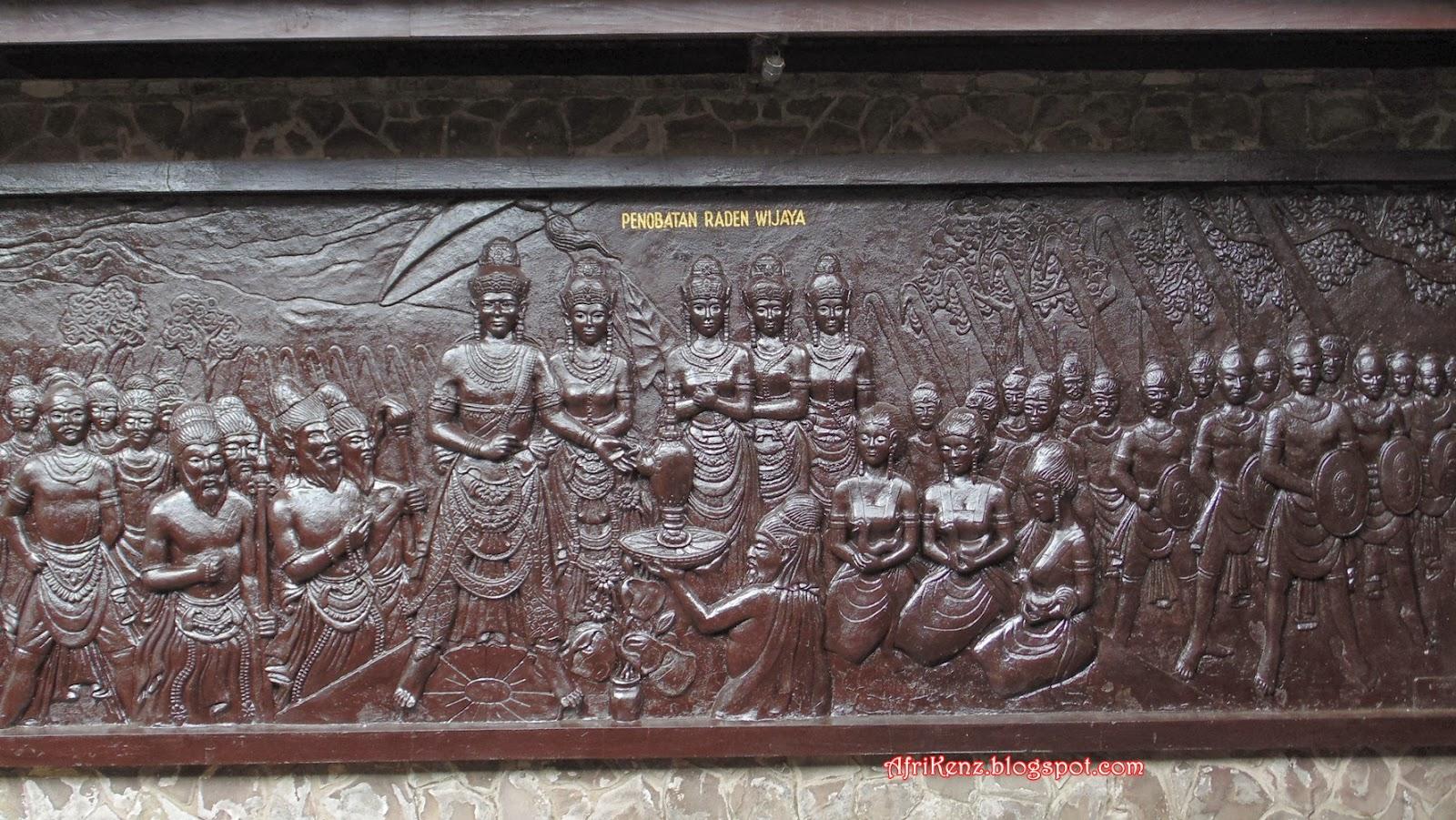 Pendopo Agung Trowulan Petilasan Pendiri Kerajaan Majapahit Mojokerto Kab