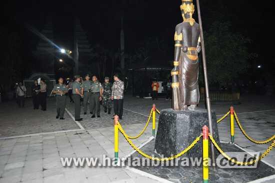 Puncak Hut Kodam Brawijaya Digelar Sarasehan Pendopo Agung Patung Wijaya
