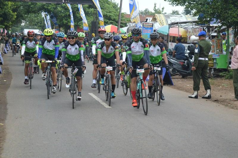Road Bike Hut 69 Kodam Brawijaya Start 8 Penjuru Mata