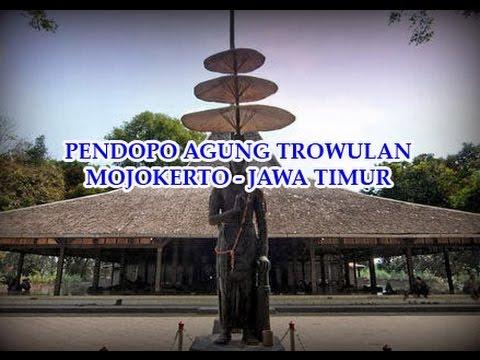 Trowulan Remnants Majapahit Grandeur Worldnews Pendopo Agung Mojokerto Jawa Timur