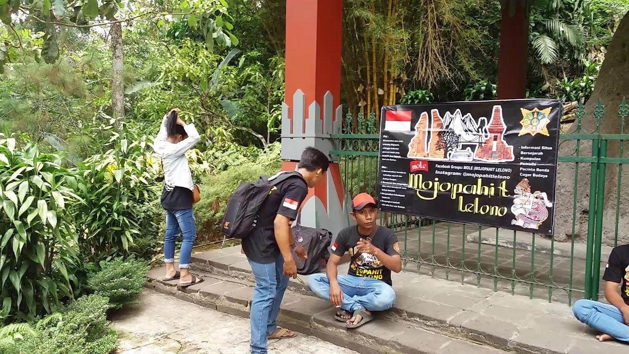 Blusukan Lelono Situs Reco Lanang Terletak Kec Trawas Kab Mojokerto