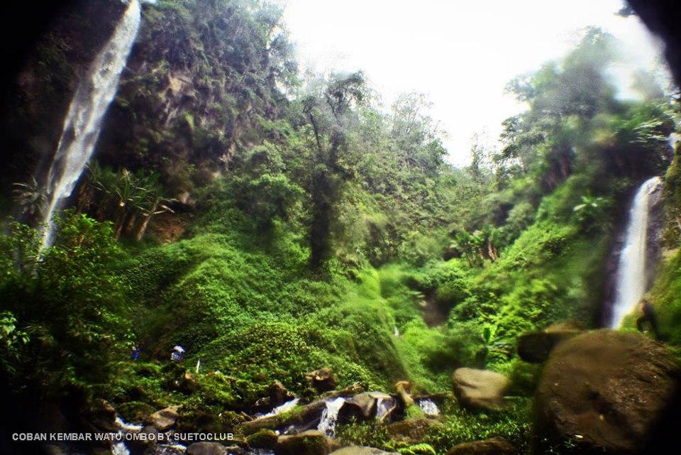 Dunia Indonesia Tempat Wisata Mojokerto Air Terjun Coban Kembar Watu