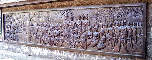 Mojokerto Regency History Kabupaten Terkenal Situs Bersejarah Trowulannya Berbatasan Langsung
