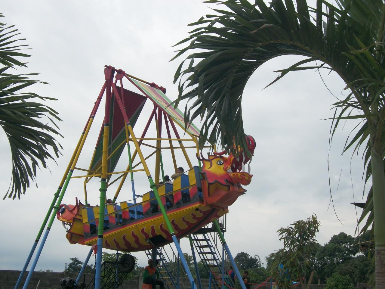 5 Obyek Wisata Pacet Mojokerto Layak Kunjungi Joglo Park Taman