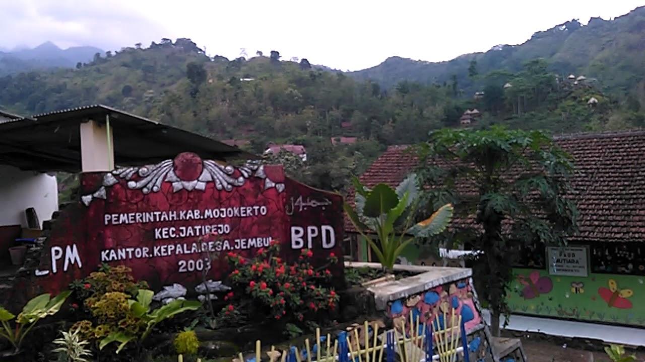 Bukit Pelangi Desa Jembul Kec Jatirejo Mojokerto Youtube Taman Joglo