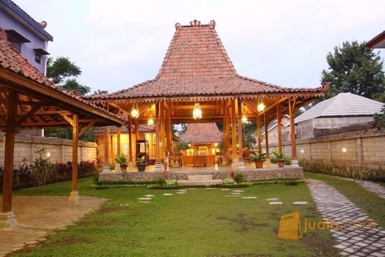 Rumah Joglo Mewah Kolam Renang Pribadi Maguwoharjo Sleman Jogja Kol