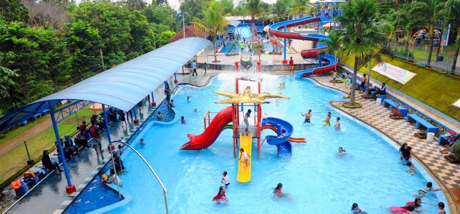 7 Tempat Wisata Air Keluarga Recommended Pacet Mini Park Taman