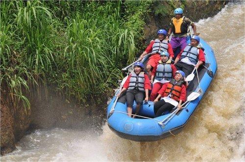 Rafting Pacet Kromong Mojokerto Taman Mini Kab