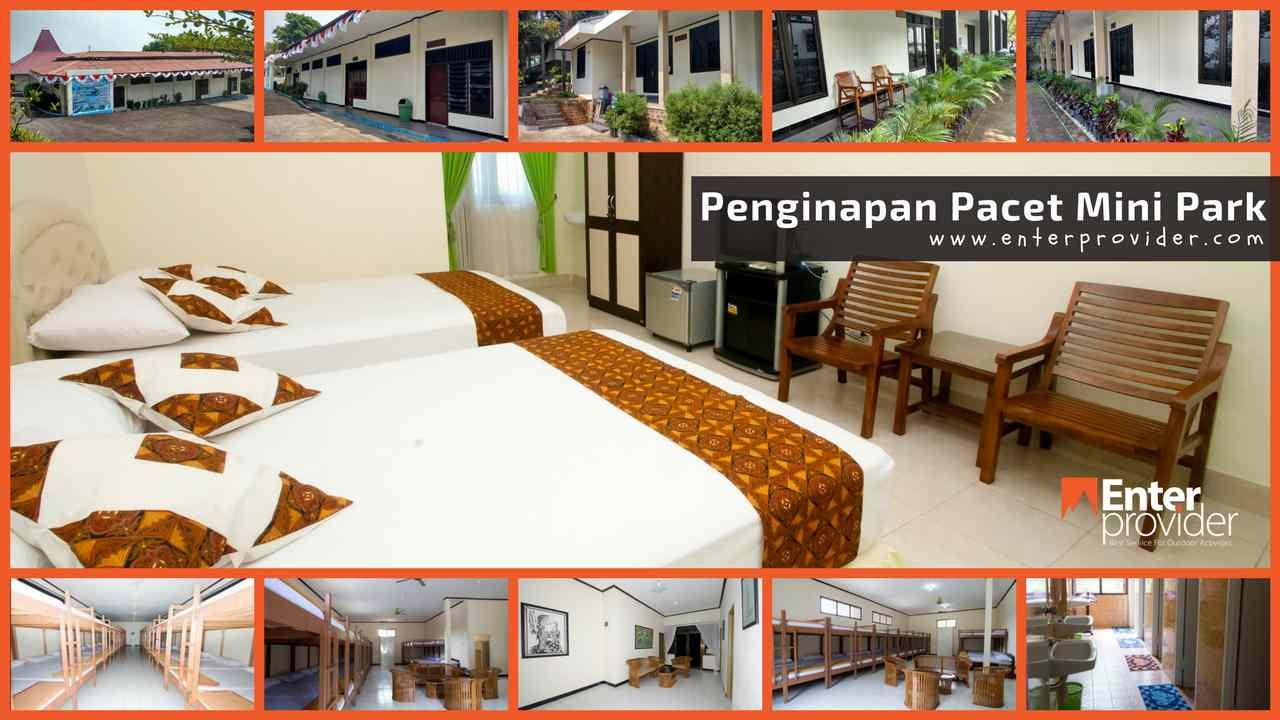 Sewa Villa Pacet Mojokerto Outbound Enter Provider 0822 Mini Park
