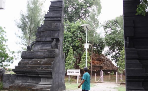 Candi Lor Minim Kunjungan Wisatawan 0 Foto Okezone Berada Desa