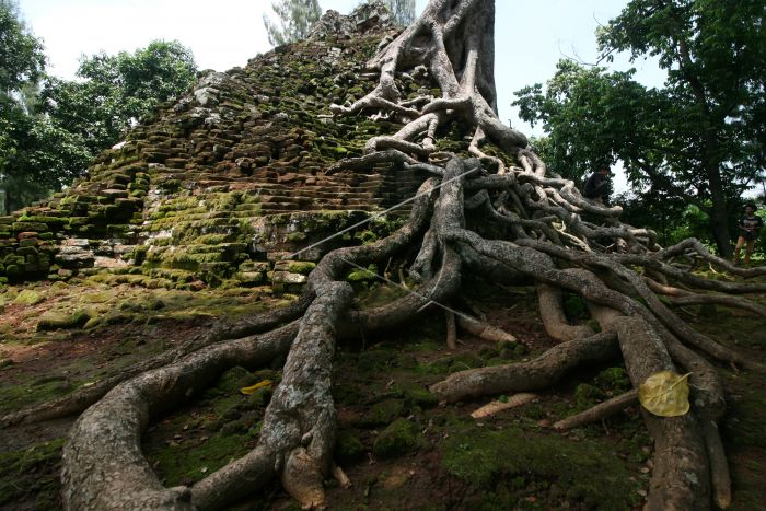 Candi Lor Nganjuk Antara Foto Warga Beraktivitas Desa Candisari Kabupaten