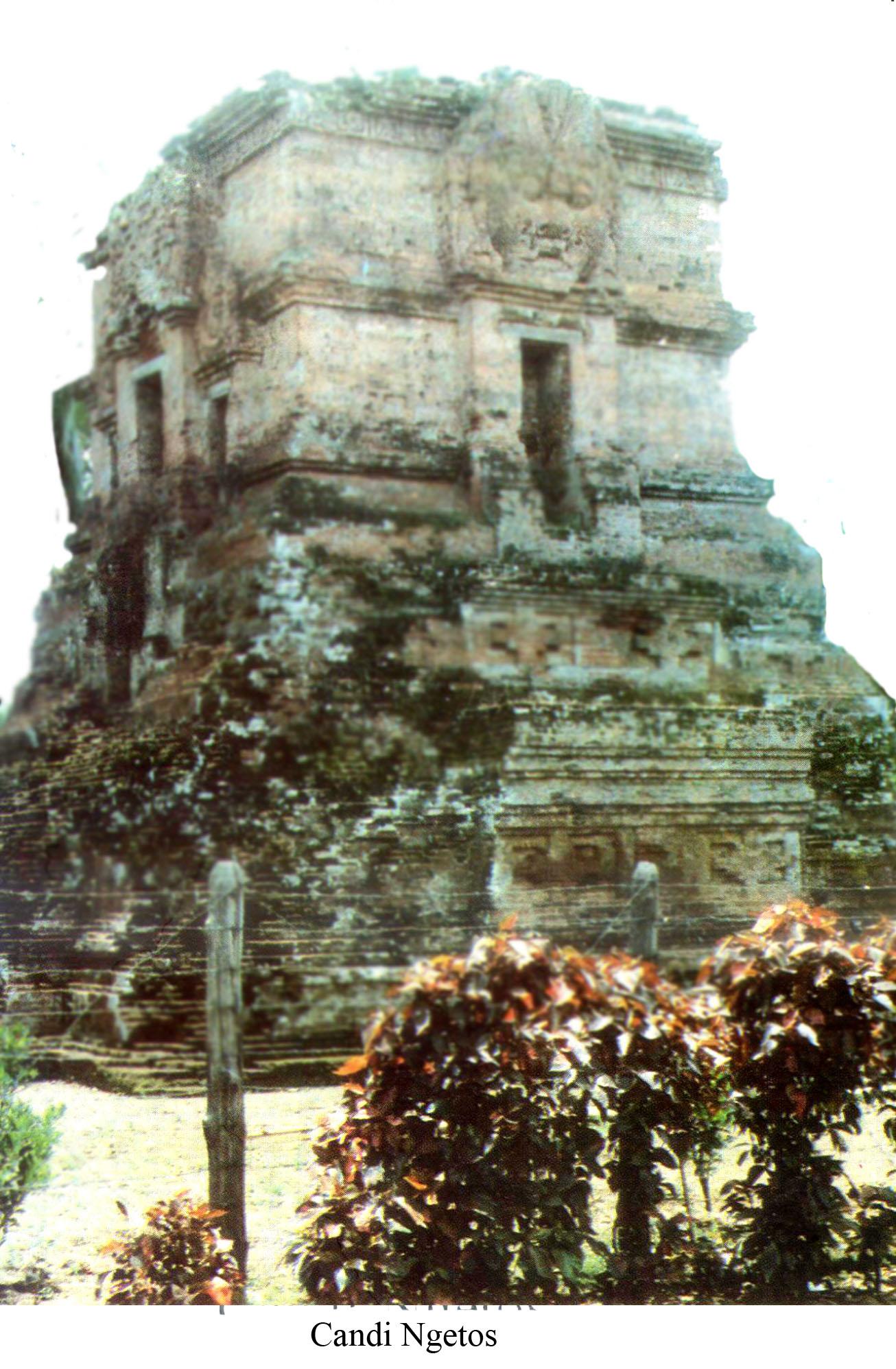 Candi Ngetos Kabupaten Nganjuk Wisata Jawatimuran Secara Geografis Terletak Desa