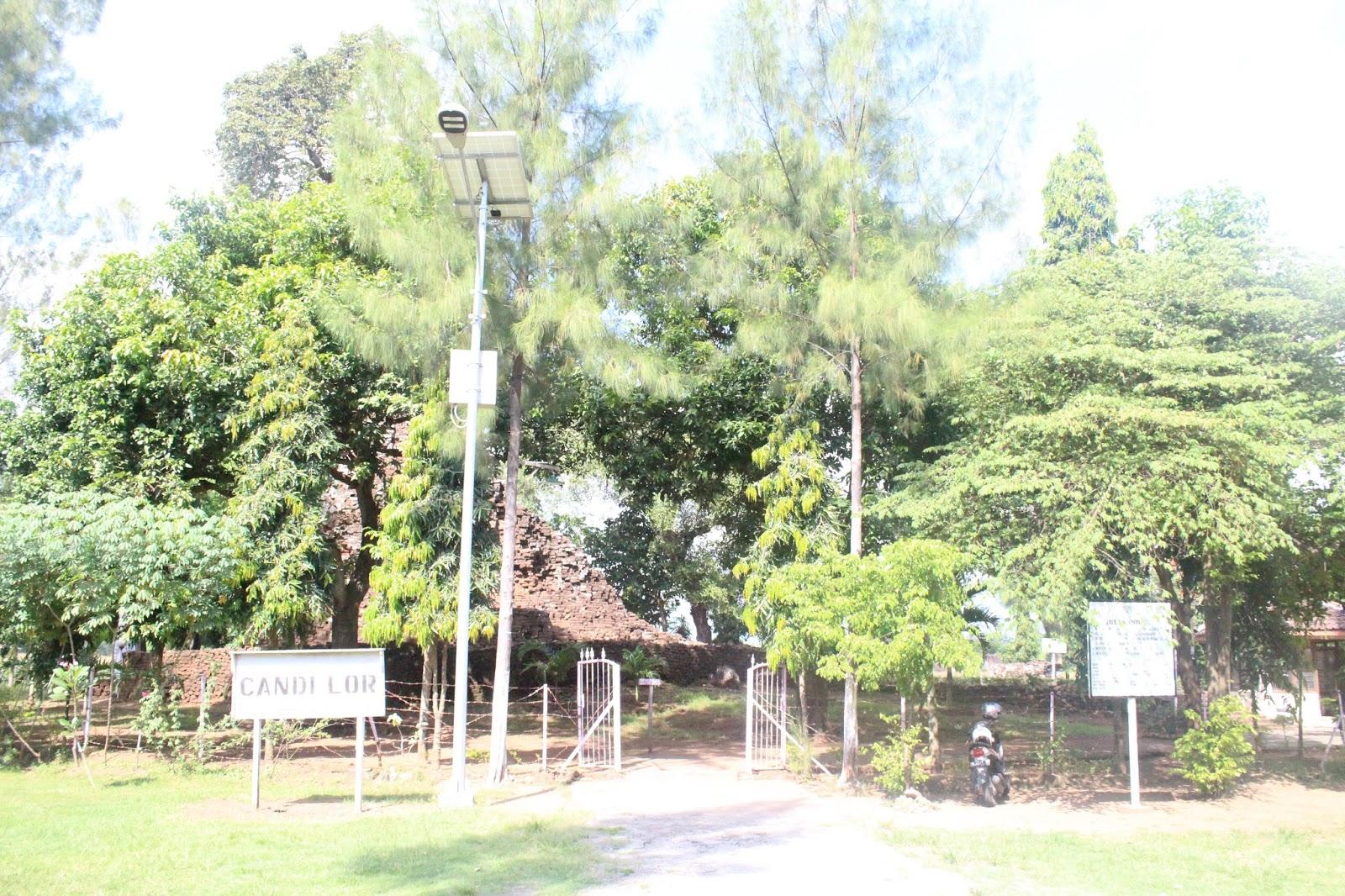 Candi Tertua Lor Kota Kabupaten Nganjuk Wisata Tempat Sejarah Pun