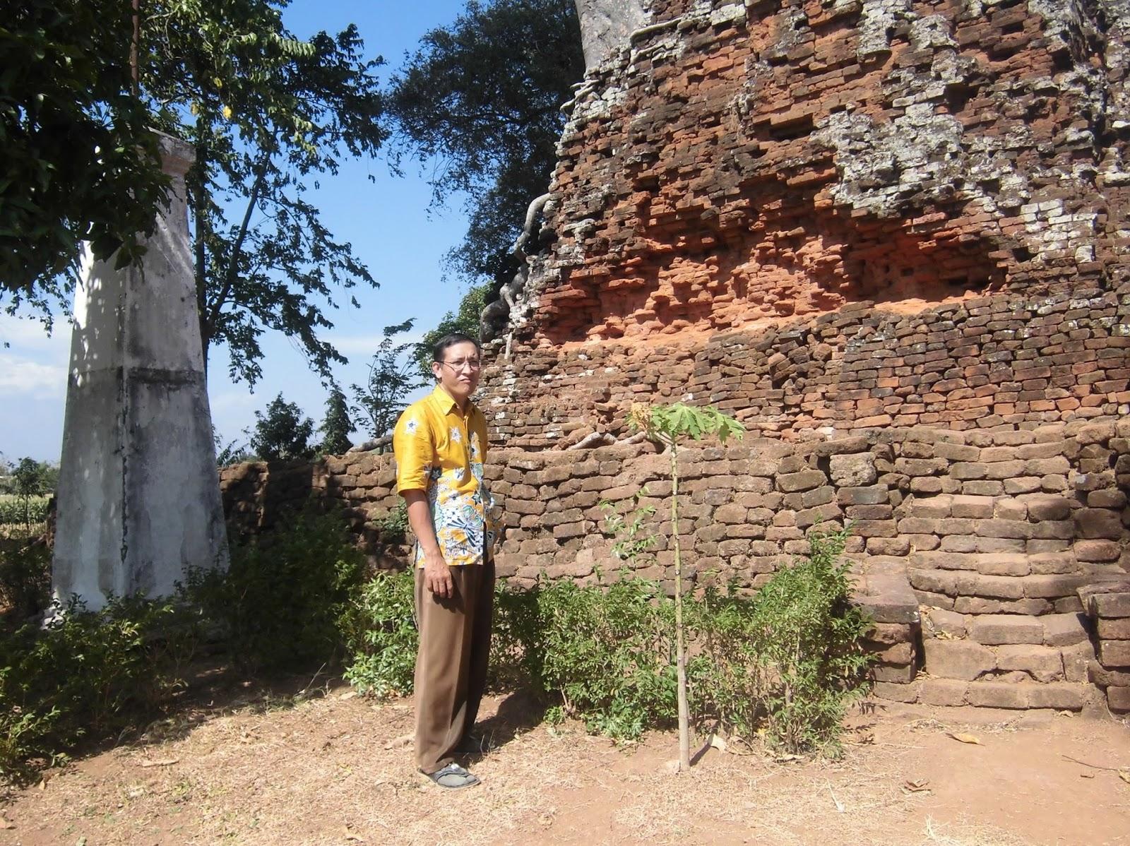 Firdaus Ubaidillah Candi Lor Nganjuk Jawa Timur Sejarah Kab