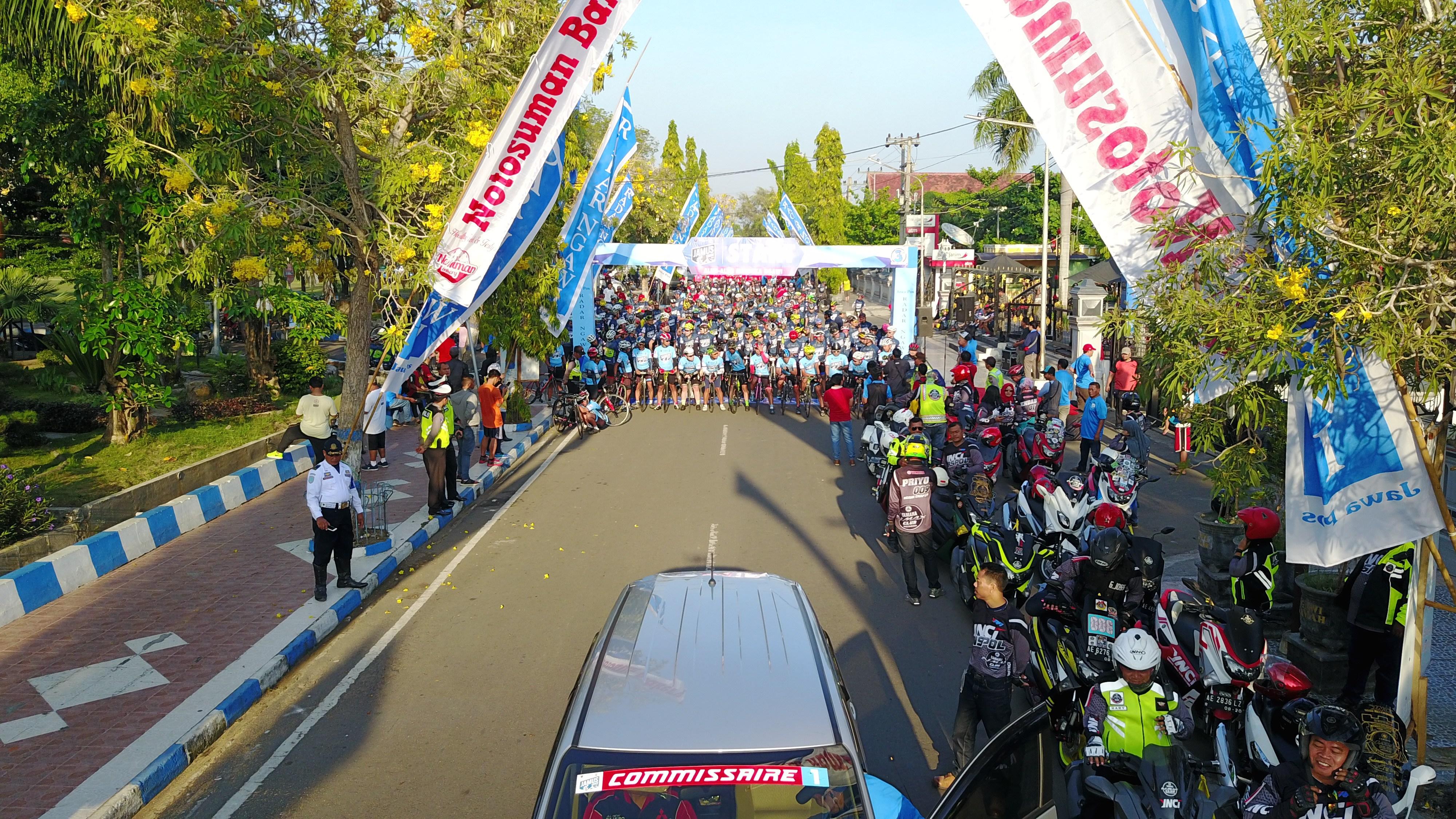 Cycling Party Jamus 100km 2017 Kab Ngawi Jawa Pos Radar