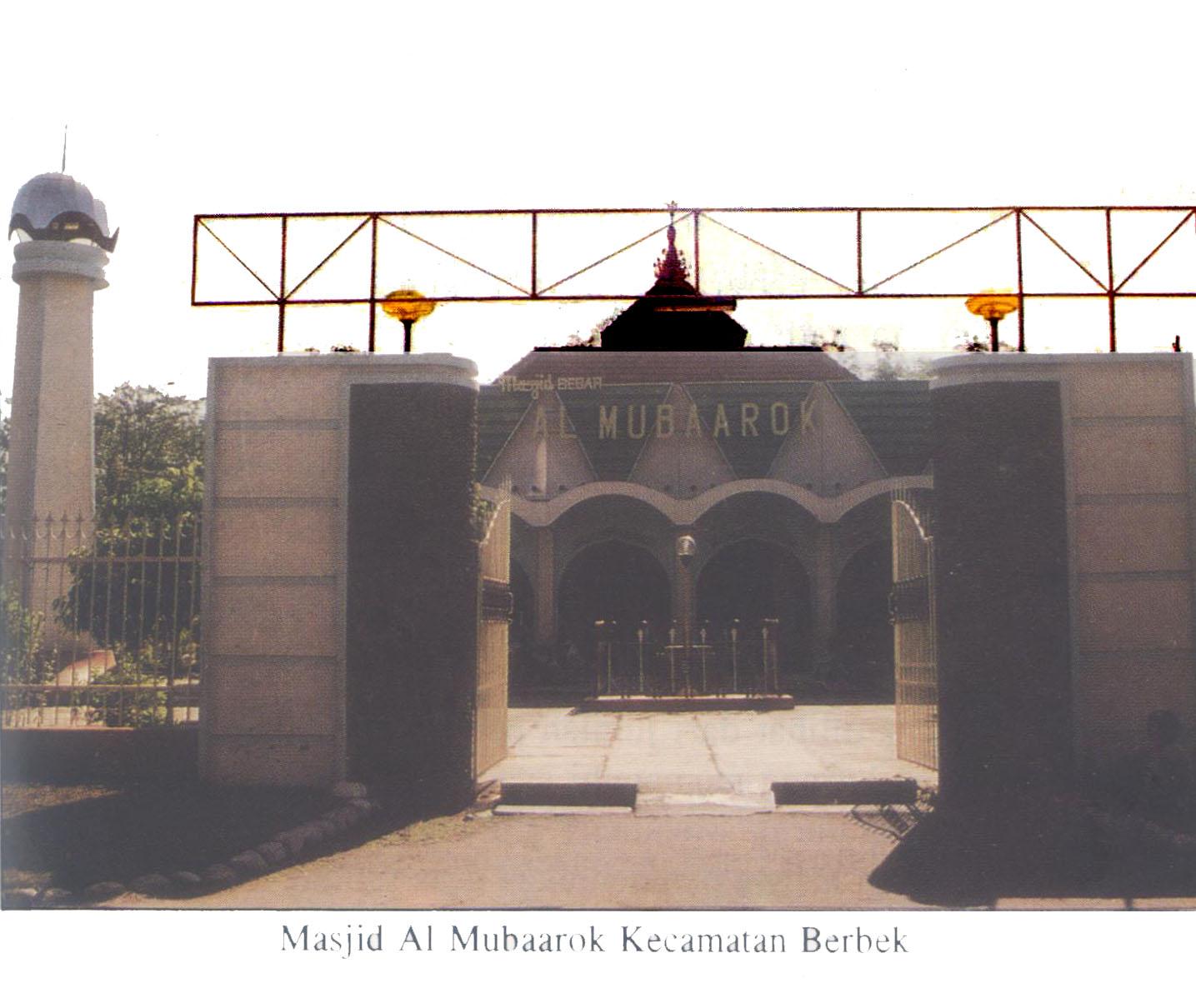 Masjid Al Mubaarok Kabupaten Nganjuk Pusaka Jawatimuran Kebun Teh Jamus