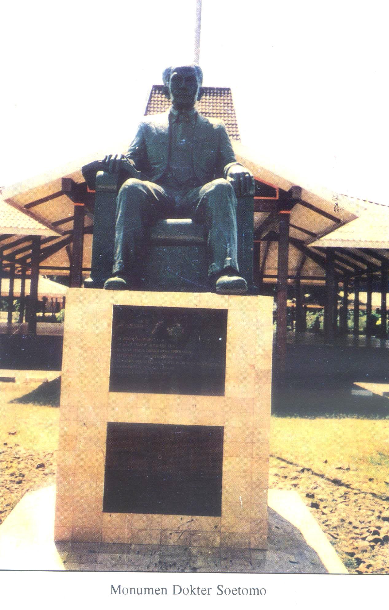 Monumen Dokter Soetomo Kabupaten Nganjuk Wisata Jawatimuran Dr Kebun Teh