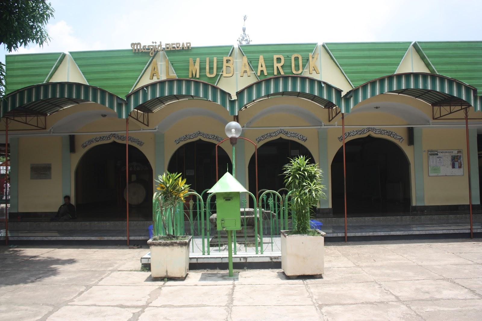 Information Internet Masjid Al Mubarok Kanjeng Jimat Makam Kab Nganjuk