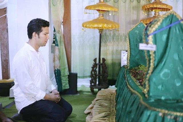 Kunjungi Ngawi Nganjuk Emil Dardak Ziarah Makam Kanjeng Jimat Duta