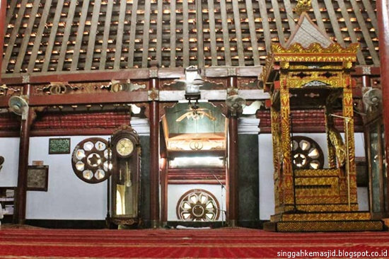 Singgah Masjid Al Mubarok Berbek Tertua Kabupaten Nganjuk Ruang Mihrab