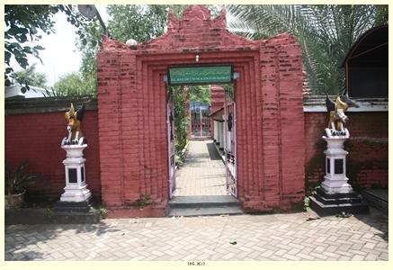 Information Internet Pintu Masuk Makam Kanjeng Jimat Masjid Yoni Al