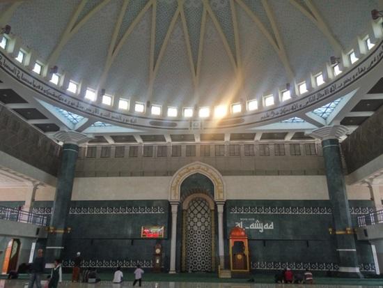 Masjid Agung Al Amjad Info Menarik Sedulur Klaten Interior Yoni