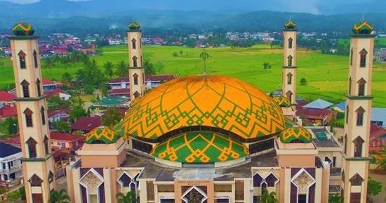 Masjid Agung Al Muhsinin Kota Solok Info Menarik Sedulur Klaten