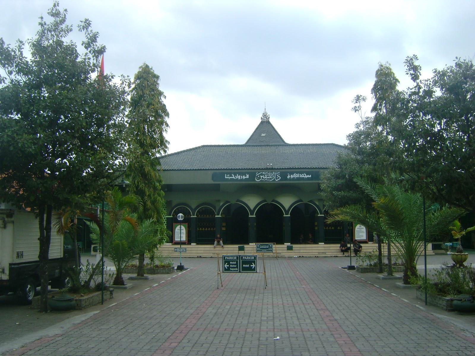 Masjid Agung Darul Muttaqin Purworejo Kekunaan Umpak Landasan Tiang Utama