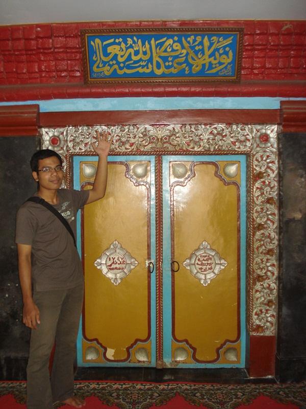 Masjid Al Mubarok Nganjuk Unik Afri Kenz Pintu Masuk Utama