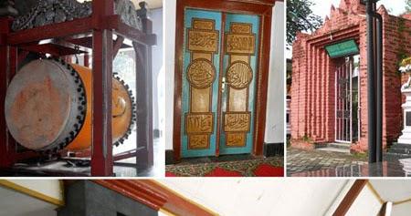 Sejarah Islam Kabupaten Nganjuk Kanjeng Jimat Masjid Yoni Al Mubarok