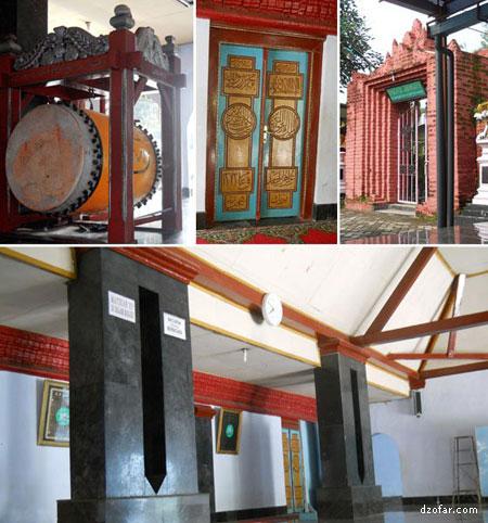 Sejarah Islam Kabupaten Nganjuk Kanjeng Jimat Sudut Masjid Al Mubarok