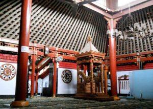 Sejarah Masjid Al Mubarok Berbek Nganjuk Bangunan Yoni Kab