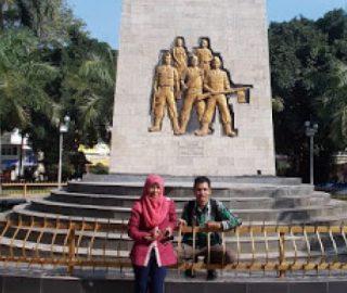 Keindahan Wisata Monumen Pahlawan Indonesia Alun Nganjuk Jawa Timur Dr