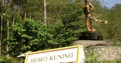 Air Terjun Roro Kuning Nganjuk Kenali Negrimu Monumen Geriliya Jenderal