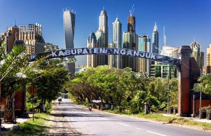 Handika Putra Hadiwijaya Deskripsi Tentang Kabupaten Nganjuk Sebuah Provinsi Jawa