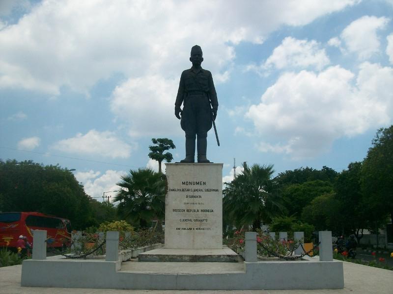 Lokasi Kita Bisa Nemuin Patung Jendral Soedirman Share Surabaya Monumen