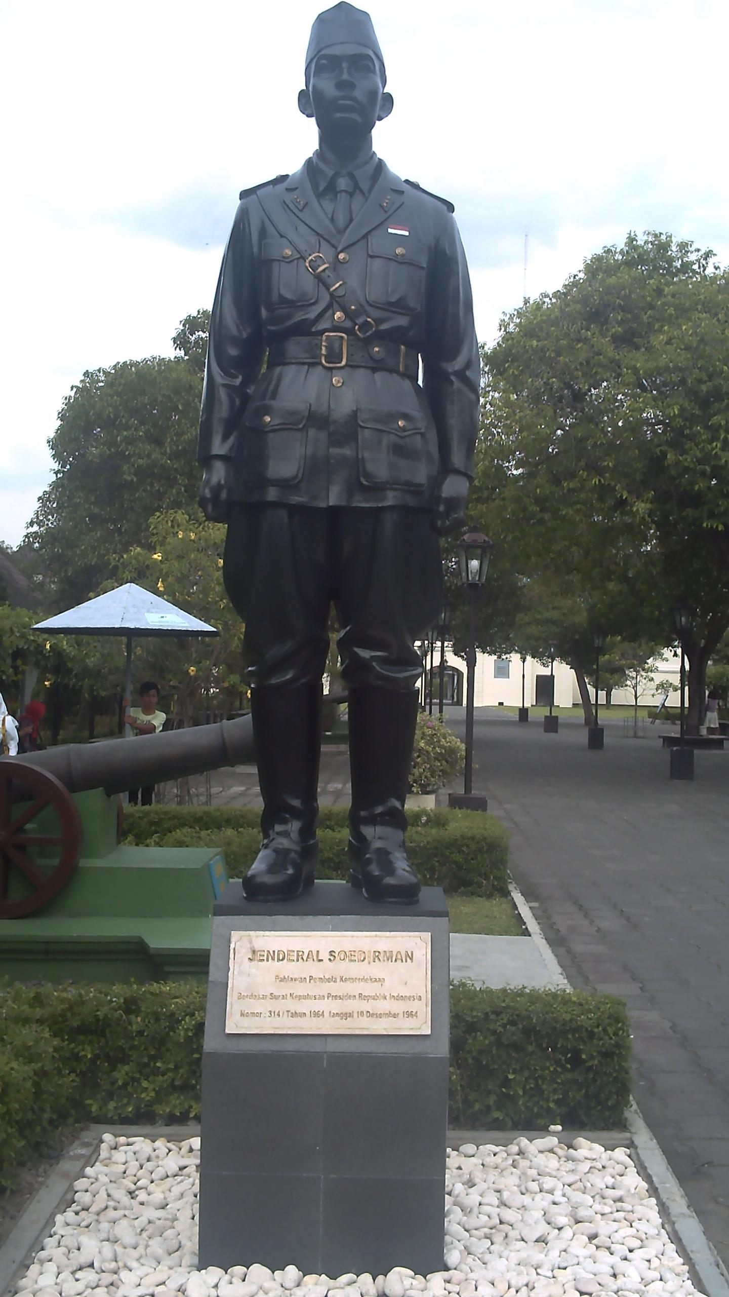 Patung Jenderal Besar Soedirman Tidak Negeri Page Monumen Geriliya Sudirman