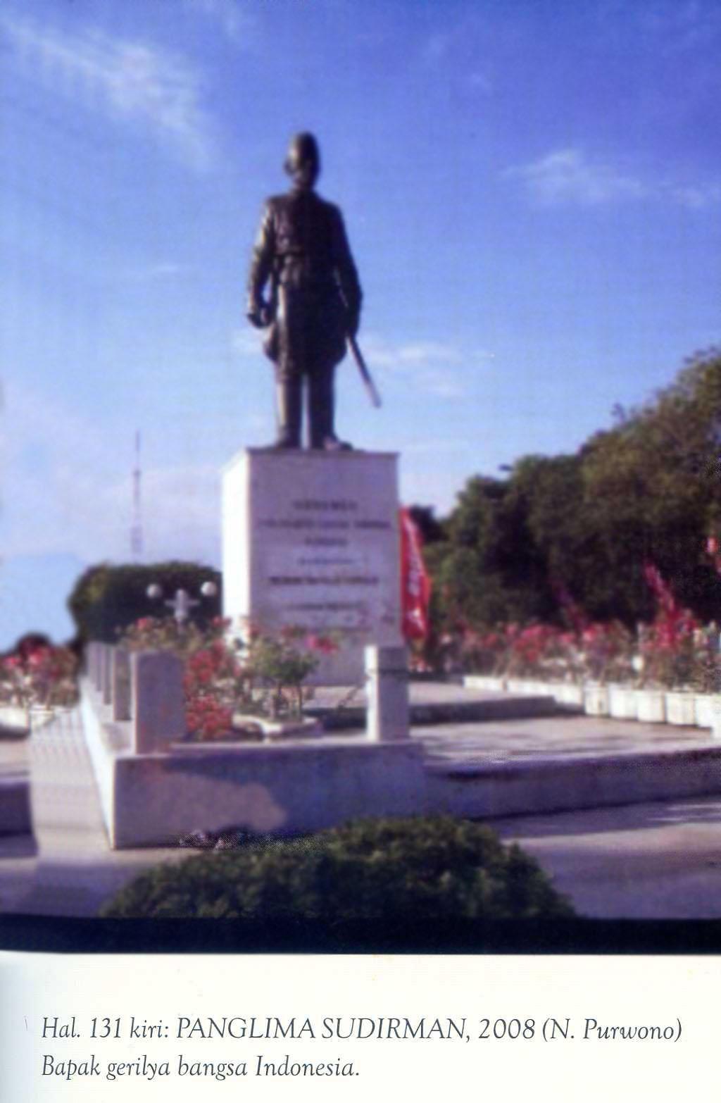 Patung Perjuangan Kota Surabaya Pusaka Jawatimuran Melacak Monumen Geriliya Jenderal